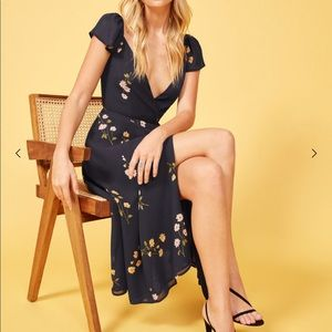 NWT Reformation Piper Dress, Floral M (never worn)